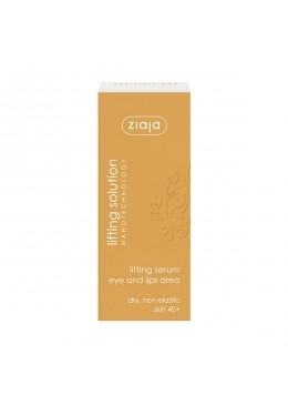 Lifting Solution serum concentrado de ojos y labios - Ziaja