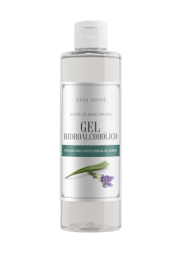 GEL HIDROALCOHÓLICO 250ml - Alma Secret