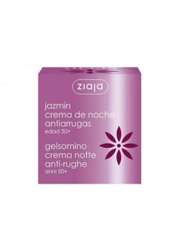 Jazmín crema facial de noche antiarrugas ES - Ziaja