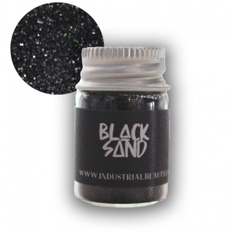 IB GLITTER - BLACK SAND 6ML