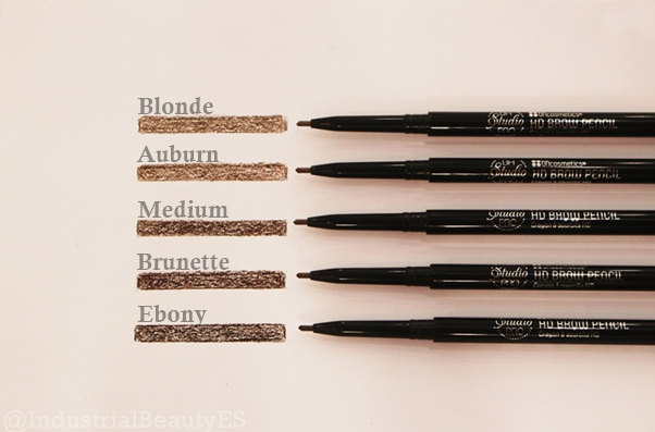 hd brow pencil bh swatches
