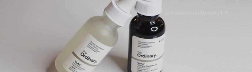 """Buffet"" y ""Buffet"" + Copper Peptides 1% - The Ordinary"