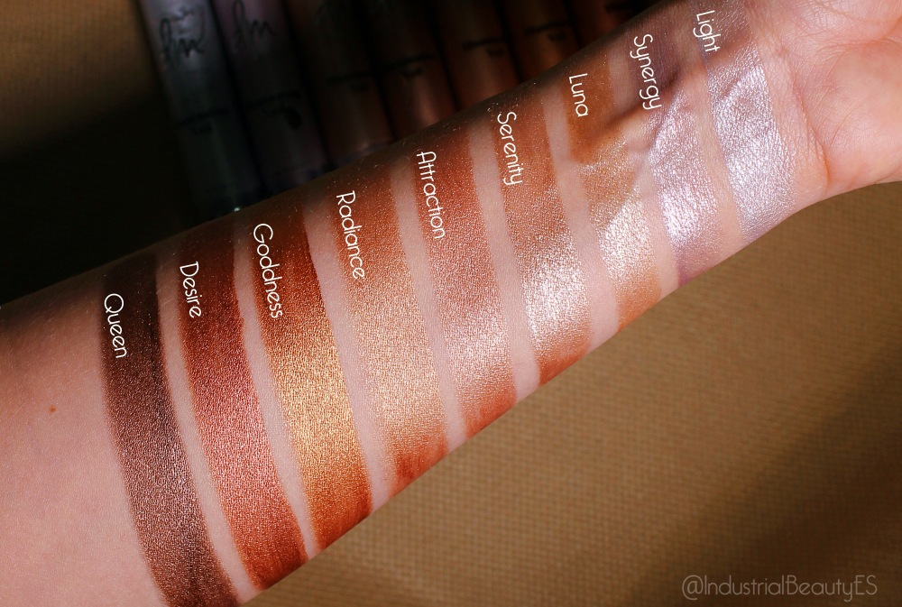 swatches iluminating veil danessa