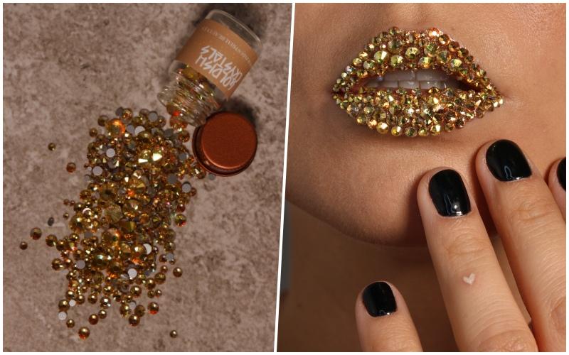 Goldish Crystals