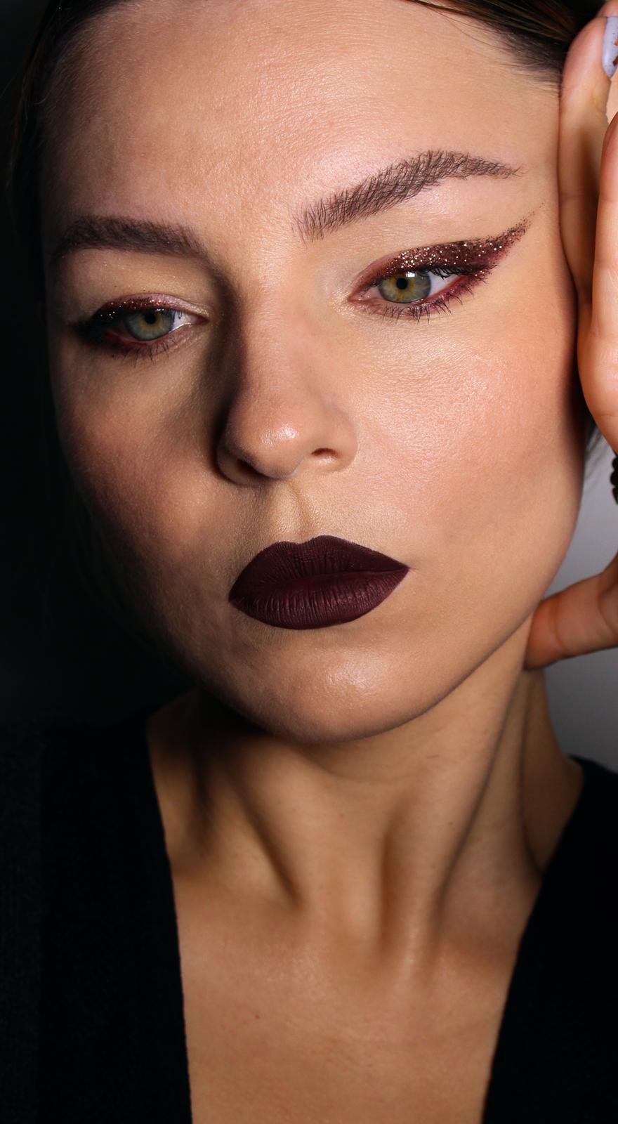 maquillaje año nuevo