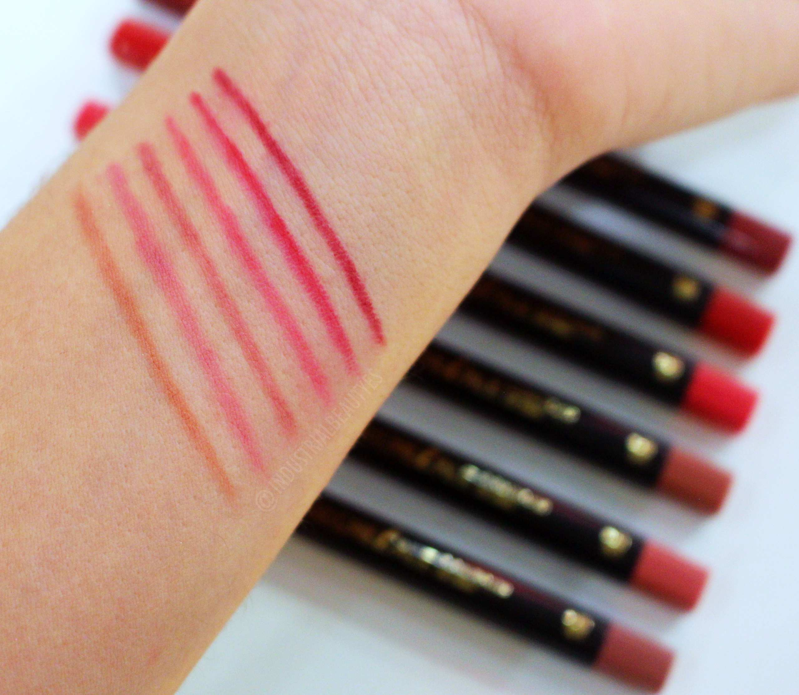 perfilador bell swatches